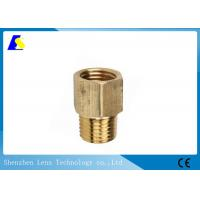 Quality Brass Coupler Straight Cleaning Rod Adapters Quick - Connect Hydraulic Fitting wholesale
