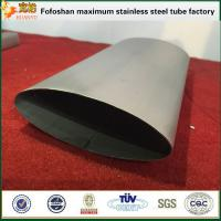 Quality Professional Supplier Flat Stainless Steel Oval Tube Special Section Tube/Pipe wholesale