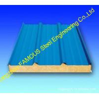 Quality Exterior Polyurethane Foam Sandwich Sheetsl For Refrigeration House wholesale
