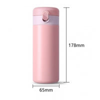 Quality 0.32L Leakproof 11 Ounce Thermos Flask Coffee Cup wholesale