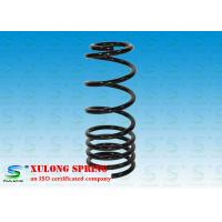 Quality Black Alloy Steel Pigtail Rear Suspension Coil Springs For Cars / Racing wholesale