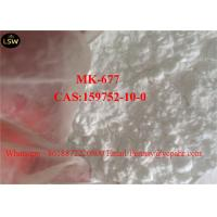 Quality Pharmaceutical Raw Material MK 677 Ibutamoren  For Muscle Building CAS 59752 10 0 White Powder wholesale