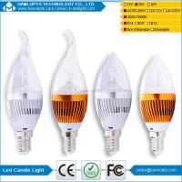 China Led candle light 3W with E14/E12 base most cheap long end and no long end on sale