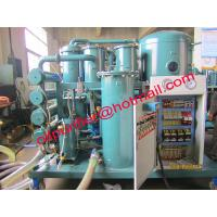 China Gray Lube Oil Purifier Machine,White Emulsified Oil Regeneration by water-ring vacuum pump on sale