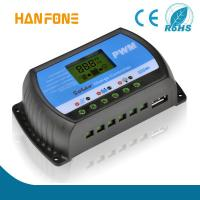 China hanfong  Manufacture Solar Controller 12V 20A PWM Solar Charge Controller with USB charge on sale