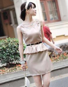 China Korea Ol Gorgeous One-Piece Dress (2011-051) on sale