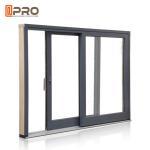Quality Anti Aging Aluminium Sliding Patio Doors For Interior House Customized Color price aluminum sliding window wholesale