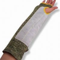 Quality Leather Faced/Kevlar/Stainless Steel/Cotton Knitted Arm Sleeve/Protection, Measures 40cm wholesale