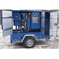 Cheap MTP Mobile Trailer Type High Vacuum Transformer Oil Purification Systems for sale