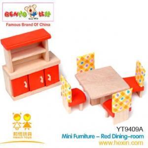 Quality wooden Toys Mini Furniture wholesale