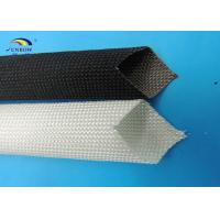 Cheap flame retardant fiberglass braided sleeving for Is fiberglass insulation fire resistant
