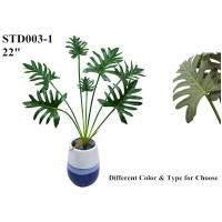 Quality Clear Veins Artificial Leaves Of Tree Philodendron Highly Simulated Upscale wholesale