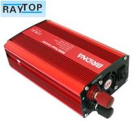 Cheap Solar 800w Car Power Inverter Red Colour Auto Power Inverter With USB 5v 1A for sale