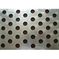 Quality Customized different hole 1mm Iron plate Galvanized perforated metal mesh wholesale