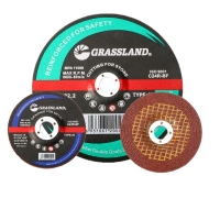 Quality 4 In X 1/4 In X 5/8 In Resin Bonded T27 Grinding Wheel For Polishing Stainless Steel wholesale