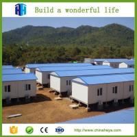 Quality steel framed export prefab movable house prefabricated suriname wholesale