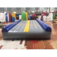 Quality air mat tumble track inflatable air mat for gymnastics tumble track air track mat air tumbling mat wholesale