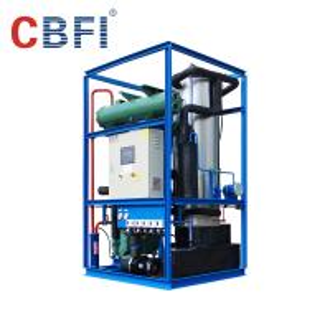 China Hotels / Restaurants Ice Tube Machine 5 Ton 10 Ton 20 Ton Automatic Ice Maker on sale