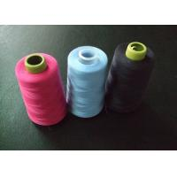 China Blue Pink Black Dyeing 100% Spun Polyester Sewing Thread 40s/2 on sale