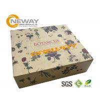 Quality Silk Screen Printing Gift Packaging Box ,  Brown Kraft Magnetic Gift Boxes wholesale
