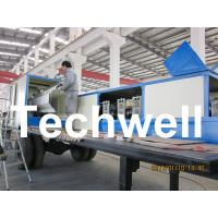 Quality 914-610 Mobile K Span Roll Forming Machine for 0.8 - 1.5mm K Span Arched Roof Panel wholesale