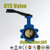 Quality lug type butterfly valve with aluminium handlever wholesale