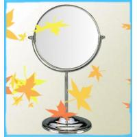 Quality round metal framed mirror with plated chrome of Y008B wholesale