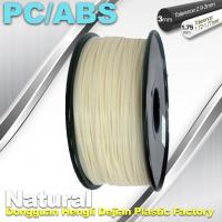 Quality High Toughness 1.75mm 3D Printer Filament PC / ABS Filament 1.3Kg / Roll wholesale