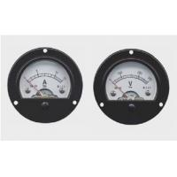 Quality Mini Round Panel Meter , Moving Iron Instruments AC / DC electrical energy meter wholesale