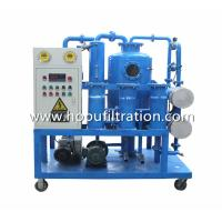 China fast dehydration transformer oil recycling equipment,Remove Moisture,Acid,Gas And Particles,Used Insulating Oil Purifier on sale
