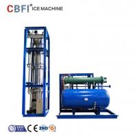 Buy cheap Low Power Consumption Ice Tube Machine For Supermarkets / Cold Drink Shops from wholesalers
