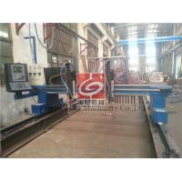 China Oxy fuel Cutting Beam Welding Line / Heavy Duty Welding Machine on sale