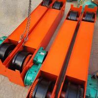Quality 5Ton 10 Ton 15 Ton Overhead Crane End Beam End Carriage With Gear Motor wholesale