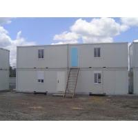 Quality Durable Pu Sandwich Panel Steel Mobile Office Containers 20ft Modular House wholesale