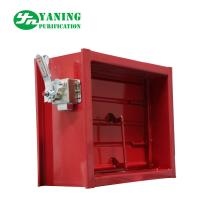 China Mechanical Switch Red Aluminum Return Air Grille With Adjustable Opposed Blade Damper on sale