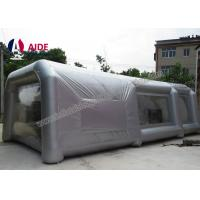 Quality Lightweight Double Stitching Inflatable Paint Booth Portable With Ce Blower wholesale