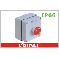 Quality IP66 Weatherproof Outdoor Sockets Push Button Power Control Box wholesale