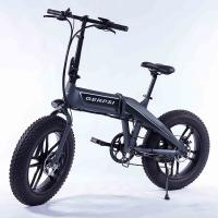 China 20 Inch Folding Fat Tire Electric Bike With Hidden Battery For Adults on sale