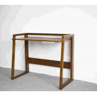 Quality Soild Wood Home Office Desk Simple Workstation Foldable For Save Place wholesale