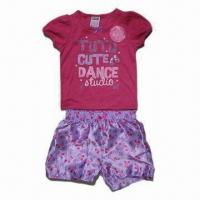 Buy cheap Girl's pajama set, nice colorfastness from wholesalers