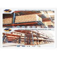 Conventional Selective Warehouse Shelving Systems , Industrial Heavy Duty Pallet Racking Storage