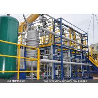 Buy cheap Automatic back wash control system fiber spinning Industrial Filtration System from wholesalers