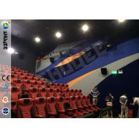 Quality Brand Speaker Large Screen 4D Motion Chair With Pneumatic System For 150 Seats wholesale