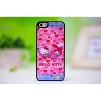 Quality New fashion Hello Kitty iphone5 case protective sleeve lovely pretty silicone shell drill wholesale