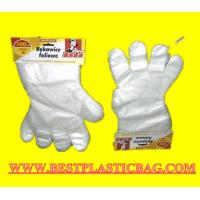Quality LDPE HDPE disposable PE gloves for medical using wholesale