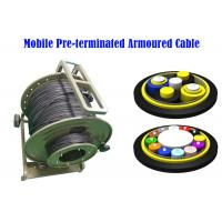 Buy cheap LC SC ST Fiber Connectors PDLC ODC ODVA Remote Radio Head cell Tower 7.0mm BBU from wholesalers