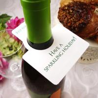 China 2015 Personalized Wine Bottle Hang Tags on sale