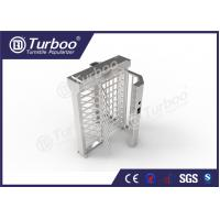 Quality Automatic Bidirectional Full Height Turnstile 304 Stainless Steel Housing wholesale