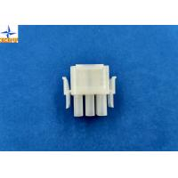 Quality 6.35mm Pitch Wire To Wire Connectors Triple Row PA66 Material Crimp type Power Connector wholesale