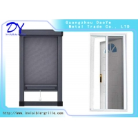 China Fiberglass Wire Mesh Retractable Invisible Sliding Screen Door on sale